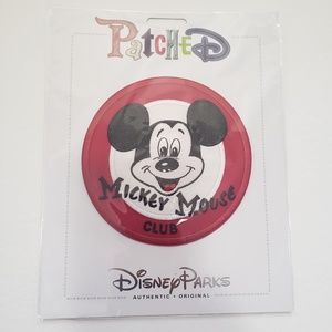 Disney Mickey Mouse Club Mouseketeer Patch